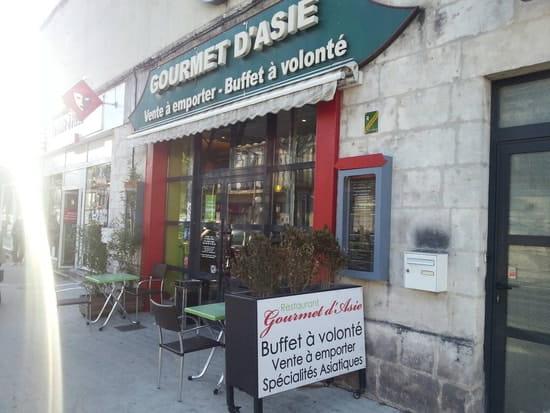 Restaurant : Au Gourmet d'Asie  - Gourmet d'Asie -