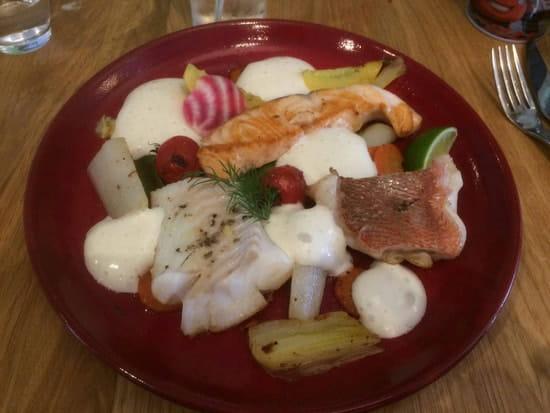 Plat : O'Délice  - Trio de poissons  -