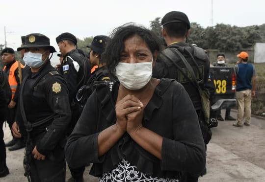 Eruption d'un volcan au Guatemala: le bilan s'alourdit avec 33morts