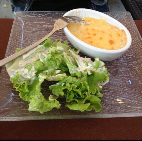 Entrée : Restaurant des Voyageurs  - Entrée menu à 15€ cassolette de brandade de morue -
