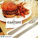 Plat : La Cantine  - Burger maison -   © SA