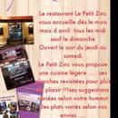 Restaurant : Le Petit Zinc