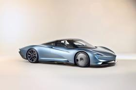 Les photos officielles de la McLaren Speedtail