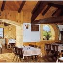 Auberge restaurant  de la Chaume du Grand Ventron  - cheminée chaume du grand ventron -   © restaurant chaume du grand ventron