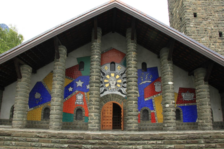 Église Notre-Dame-de-Toute-Grâce du plateau d'Assy, Haute-Savoie