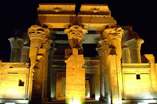 Kom Ombo, temple double