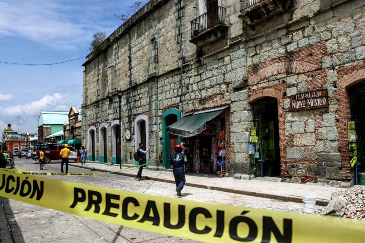 Mexique: un séisme fait au moins 5morts en pleine crise sanitaire