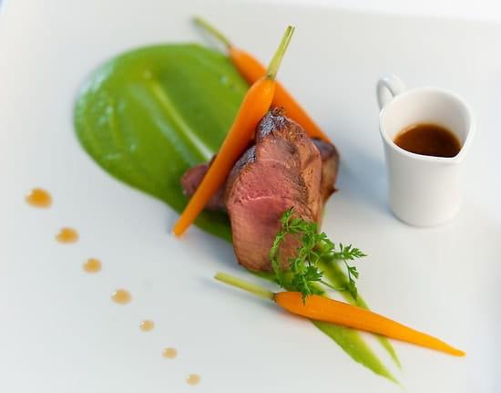 Restaurant L' Estrade  - Plat -   © Hôtel Agora*** - Restaurant L'Estrade