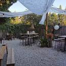 Restaurant : Le Petit Chabry  - Terrasse -   © guinguette