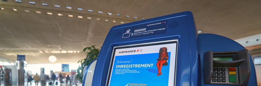 Air France: enregistrement des bagages en gare du Nord à Paris, à quel prix?