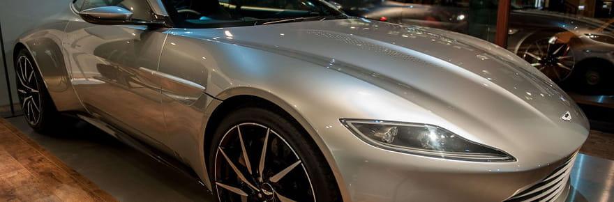 Achetez l'Aston Martin DB10du film James Bond Spectre!
