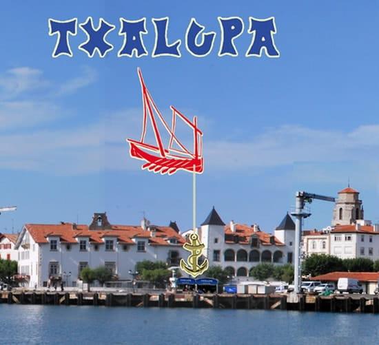 Txalupa  - Txalupa -Vue du port de St Jean de Luz -   © AE DIFFUSION