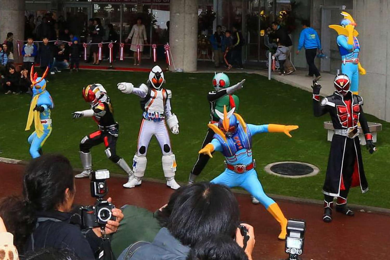 Japan Expo: Bioman, France Five, un hommage aux super sentai