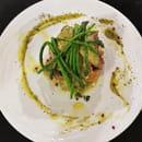 Plat : Costa d'Amalfi  - Filet de veau et asperges sauvages -   © @ Restaurant Costa d'Amalfi