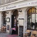 Café Serpente  - Façade du restaurant, coté cathédrale -   © Site internet