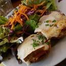 Plat : Dinette  - Tartine et salade -