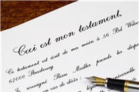 Ce que doit contenir un testament