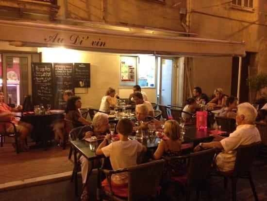 Restaurant : Au Di 'Vin  - Terrasse  -