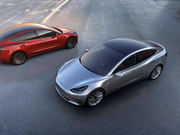 Les photos de la nouvelle Tesla Model 3