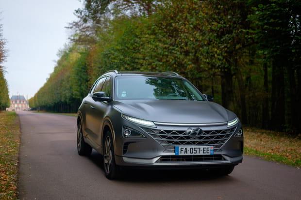 Essai du Hyundai Nexo, nouveau SUV à hydrogène