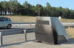 Radar chantier : une cabine record flashe 900 fois par jour !