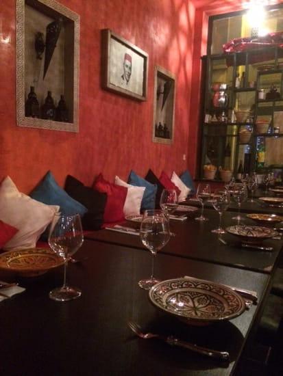 Restaurant : Le Comptoir Marrakech   © ambiance marocain