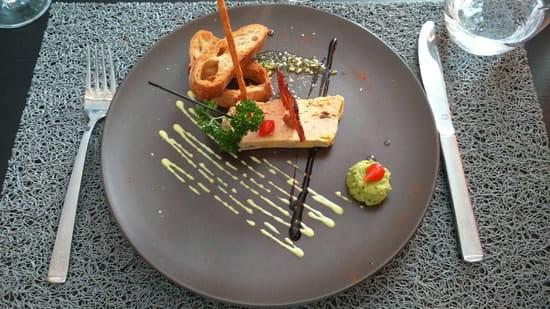 Entrée : Le 6.3 Resto Home  - Foie gras  -