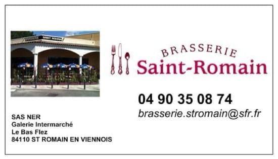 Restaurant : Brasserie ST ROMAIN