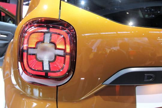 Salon de Francfort 2017: les nouveautés et les photos du Dacia Duster