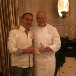 Restaurant : L'Hostellerie de Plaisance  - Un mec super bonard ce chef -