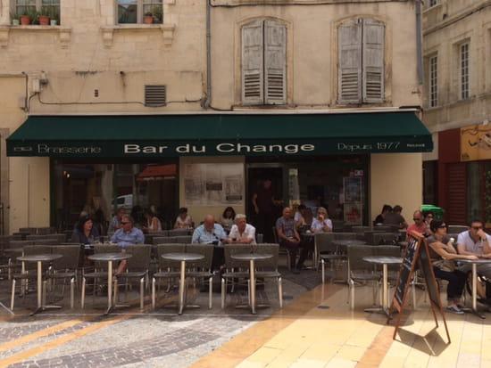 , Restaurant : Bar du Change  - Terrasse -   © barduchange_exterieur1