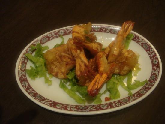 Plat : Kim San  - Gambas sel et poivre -   © Restaurant Kim San