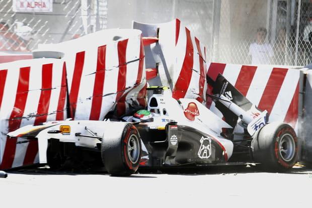 Sergio Perez à Monaco en 2011