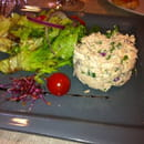 Entrée : A la Table Gourmande  - Rillettes de saumon -