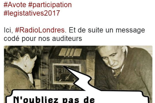 Radio Londres: des rumeurs diffusées sur Twitter pour les législatives