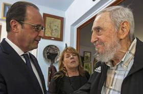 Hollande et Castro : Morano, Le Maire etl'UMP s'indignent