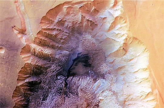 Soupçon d'eau sur Mars