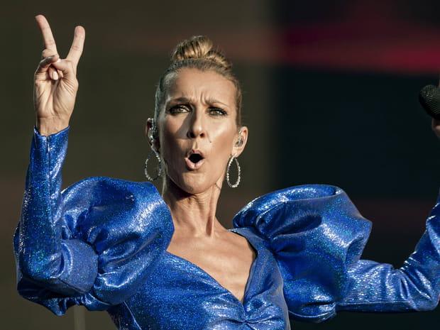 Looks improbables, grimaces... Les meilleures photos de Céline Dion