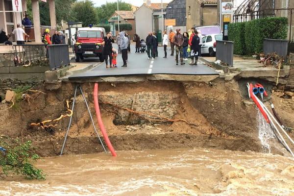 Inondations dans l'Aude: 12 morts, nouvelles évacuations 10957343