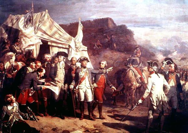 Siège de Yorktown pendant l'Indépendance américaine
