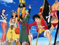 One Piece : Une scène de cauchemar. Orochi, le monstre à écailles !