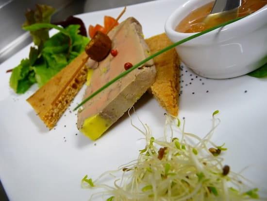 Aux Fourneaux  - Foie gras de canard mi-cuit -
