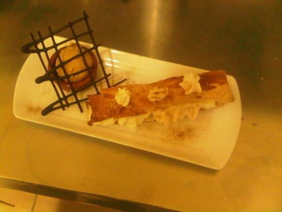 Restaurant de la mer  - le mille-feuille normand -