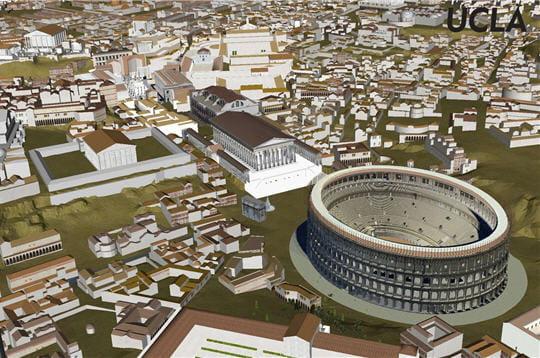 La Rome antique reconstituée!