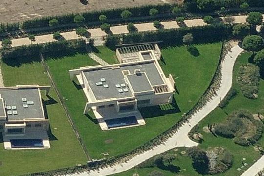 La maison de Cristiano Ronaldo