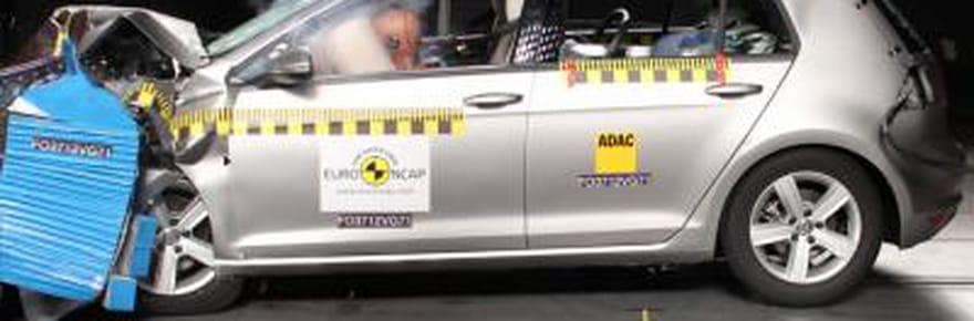 Crash-tests 2013: les berlines et compactes les plus sûres