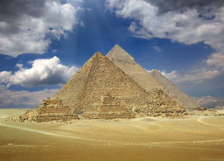 pyramides gizeh egypte