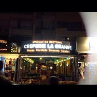 Restaurant : Crêperie La Grange