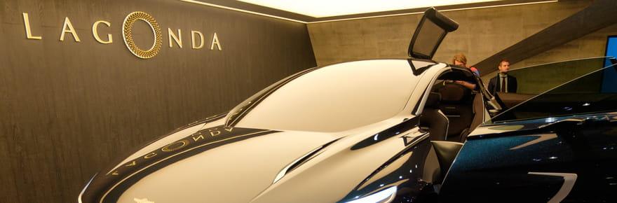 A bord du Lagonda All-Terrain Concept, le SUV du futur signé Aston Martin