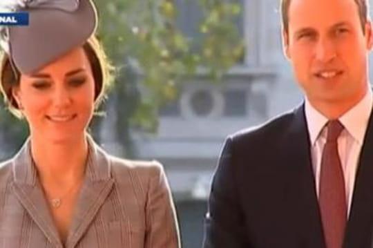 Kate et William aux Etats-Unis: coup dur pour le futur chef d'Etat